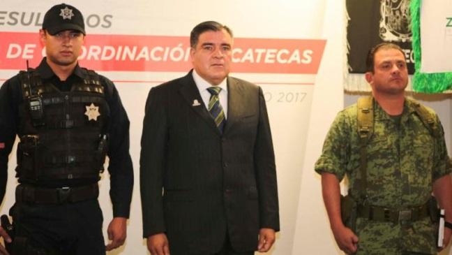 Reportan desaparición de tres policías en centro México